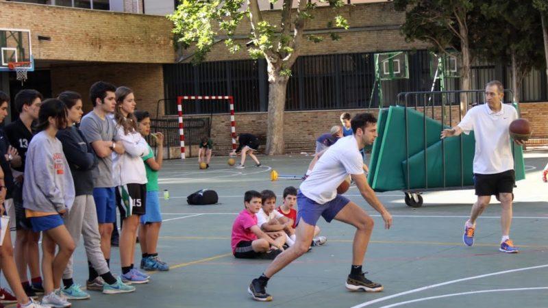 Baloncesto en el Colegio Patrocinio de San José