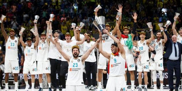 El Madrid de Laso entra en la Historia