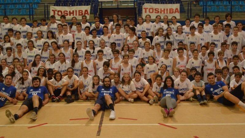 Campus Llorente 2018: sonrisas y baloncesto