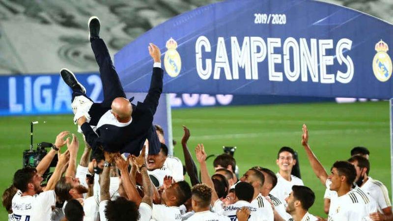 El Real Madrid, la determinación que no cesa